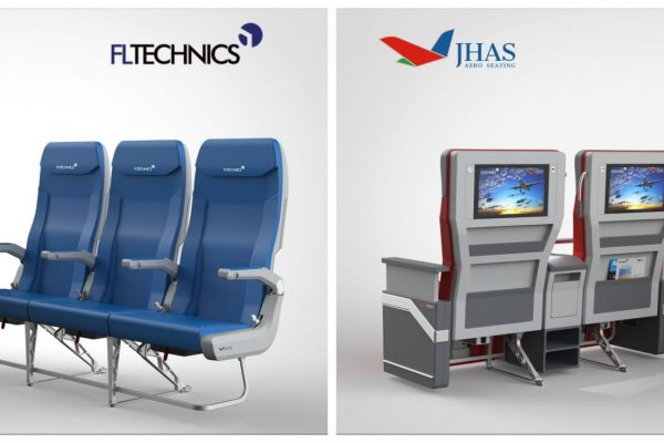 The breakthrough out of standardized economy, business and first class seating environment: exclusive rights for 3 continents