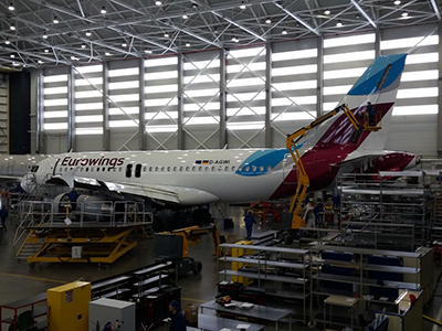 FL Technics lands new client from Lufthansa group: Eurowings Europe